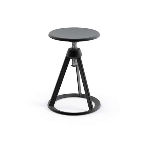 piton adjustable stool by knoll yliving