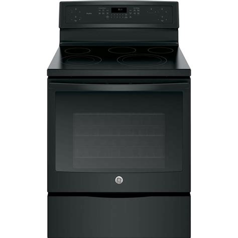 Range Home Depot by Ge 4 4 Cu Ft Slide In Electric Range With Self Cleaning