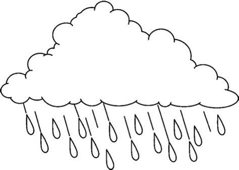 free coloring page rain free coloring pages of rain clouds