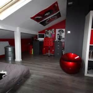 Exceptional Idee Chambre Ado Fille #5: Deco-chambre-ado-garcon-chambre-d-ado-combles-deco-garcon-ans-fille-conforama-la-decoration-i-07342316-18-alinea-design-gris-ikea-new-york-photo-rouge-noir-350x350.jpg
