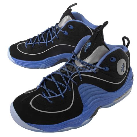 hardaway basketball shoes nike air ii 2 black varsity blue hardaway mens