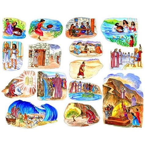 la historia de mois s bible stories toggle deluxe 5 stories