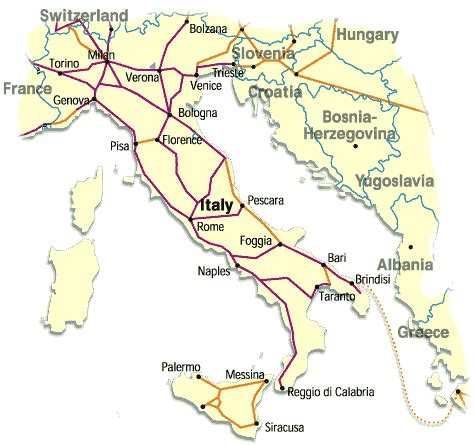printable road map of sardinia map of train routes in italy index train search
