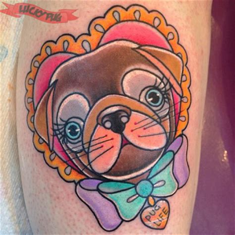 are pugs color blind color pug tattoos on legs pug picture gallery designs