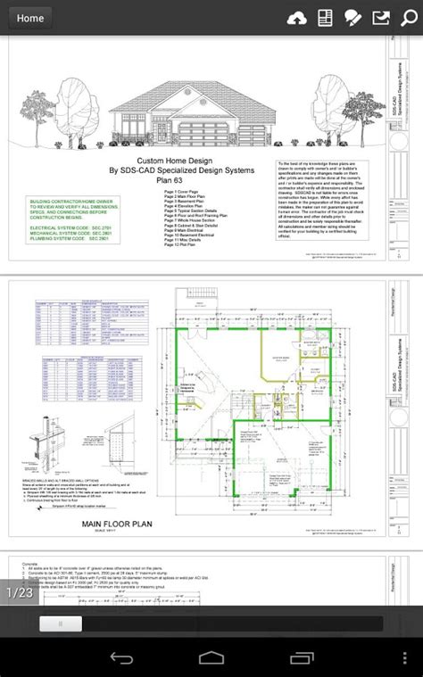 house plan pdf house plans sections elevations pdf home design and style