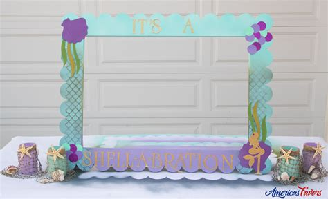 themed picture frames mermaid theme foam photo frame