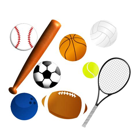 sport clipart sports clipart black and white clipart panda free
