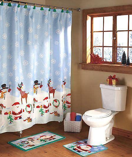 christmas bathroom shower curtains pinterest the world s catalog of ideas