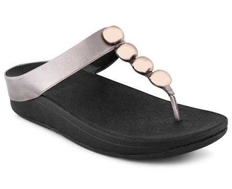 New Fitflop Rola fitflop s rola sandal pewter ebay