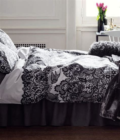 Elliot Printed Black Duvet Quilt Cover Set Linens Range 1000 Images About Room On Colleges Cotton And College Rooms