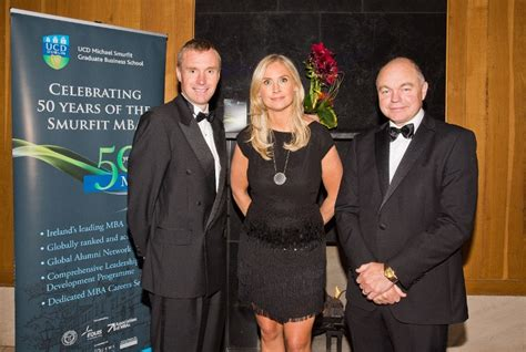 Executive Mba Smurfit by News Mba 50 Years Gala Dinner 2016 Ucd Smurfit School