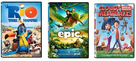 epic film amazon dvds as low as 2 99 rio epic and cloudy with a chance