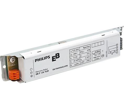 Ballast Trafo Tl Orisinil Philips ebt 136 tld eb t electronic ballasts for tl d ls india philips lighting