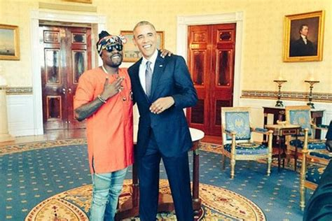 rapper house obama warms up white house for rapper wale