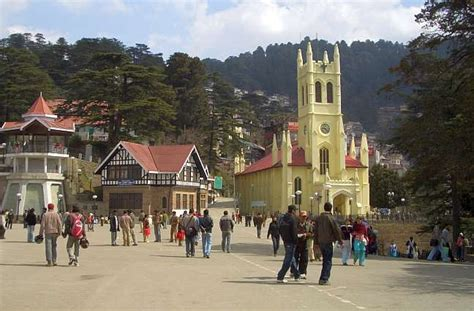 Tudor House Style the ridge in simla showing christ church and the