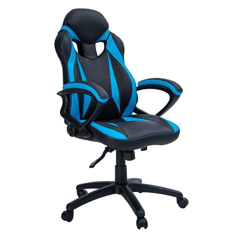Armchair Gamer by Merax Ergonomic Racing Style Leather Gaming Chair Lummyshop