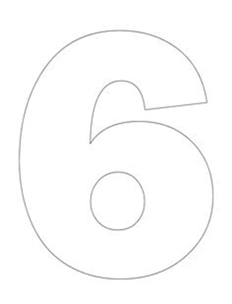 number 8 template template pinterest math numbers