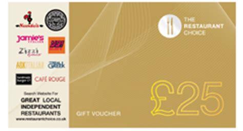 Restaurant Choice Gift Card - restaurant choice gift cards
