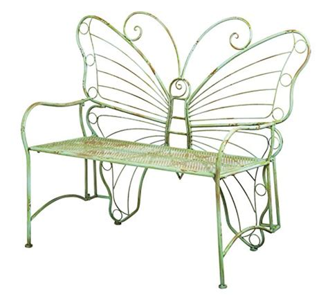 metal butterfly bench my favorite cute garden benches for sale