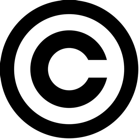 copyright symbol  windows  macos computers