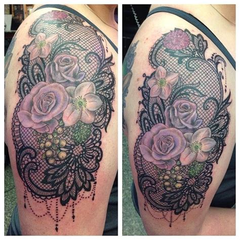 victorian lace tattoo best 25 vintage lace ideas on