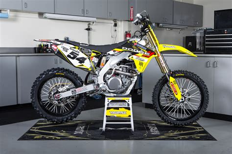 freestyle motocross bike freestyle specific inside lance coury s fmx rm z450