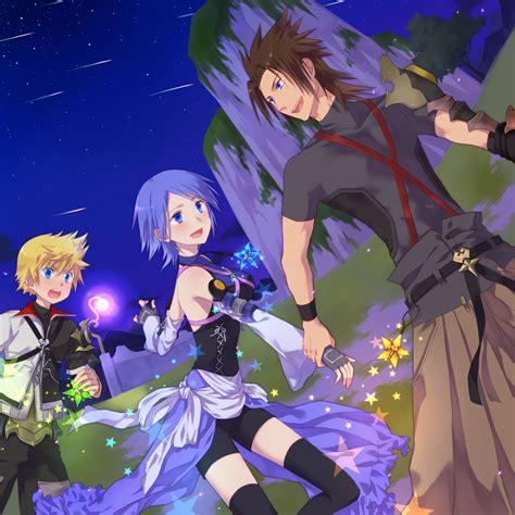 birth by sleep aqua kingdom hearts fanart page 2 zerochan anime