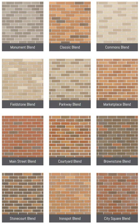metrobrick color and finish options metrobrick by ironrock