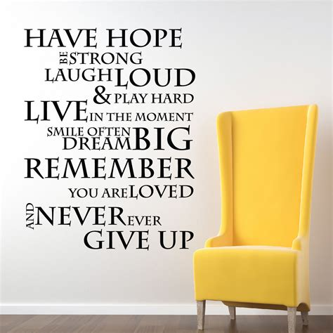 inspirational stencil wall decor inspirational wall stickers about