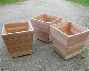 cedar planter garden furniture buy quality