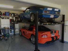 Garage Storage Lifts For Home Car Lifts 2 Post Lift And 4 Post Lifts New York Sales