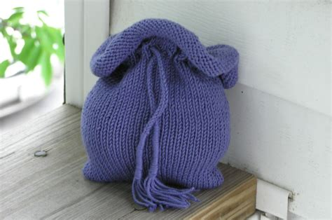 drawstring bag knitting pattern soft drawstring pouch 2 knitting