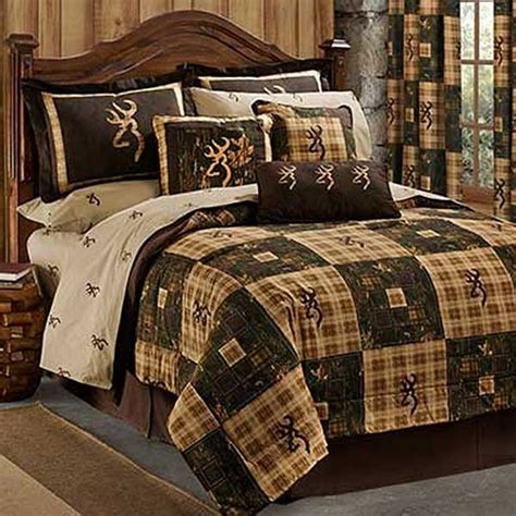 Country Bed Comforters by Browning Country Comforter Set Size Lodge Bedding