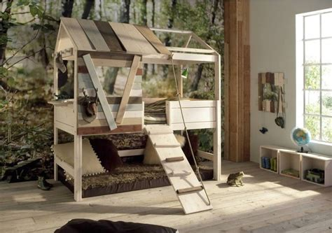 tree house loft bed toddler bunk beds that turn the bedroom into a playground