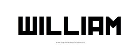 tattoo ideas for the name william william name tattoo designs