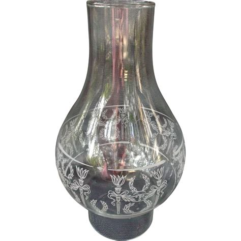 Glass Chimney L Shades by Glass Chimney Shade For L White Torches Wreaths