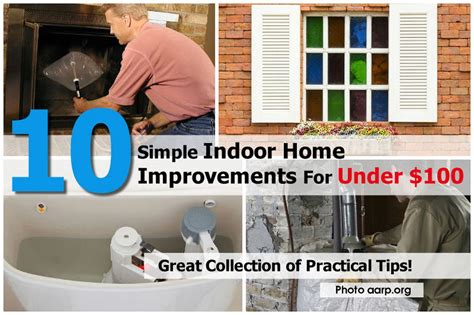 10 simple indoor home improvements for 100
