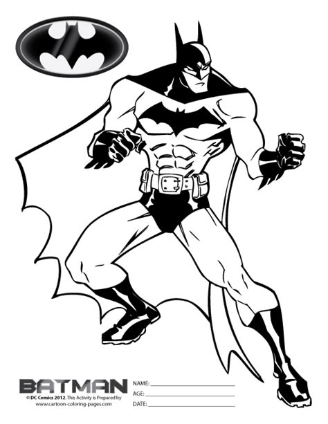 batman comic coloring pages free batman coloring pages for kids black white for