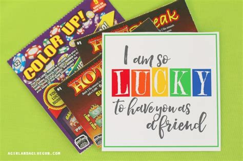 printable lottery tickets st patricks day printable with a pot of gold a girl