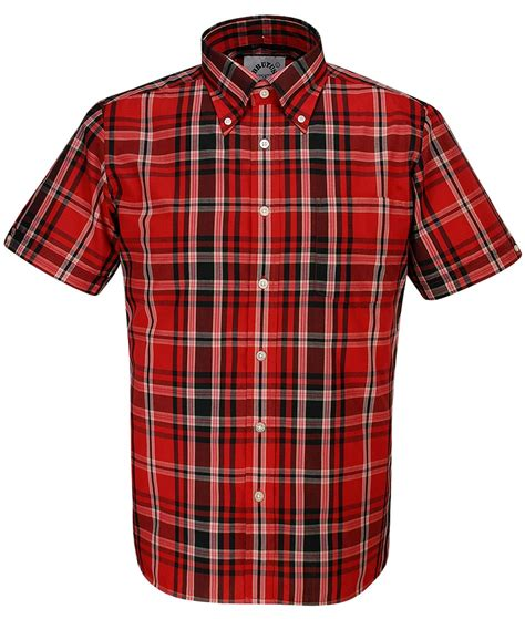 Blouse Import 24725 White Redblack Pattern brutus trimfit heritage tartan check s s shirt bnwt xx large black white ebay