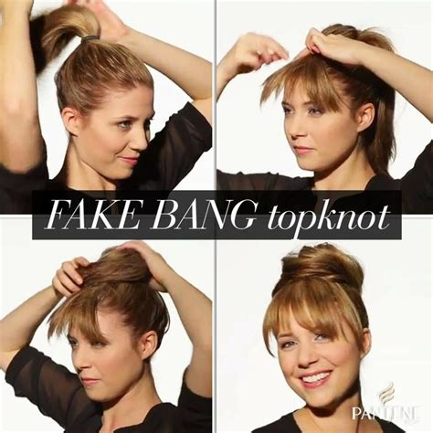 how to cut your hair to look like julianne hough haircut 25 best ideas about fake bangs on pinterest faux bangs