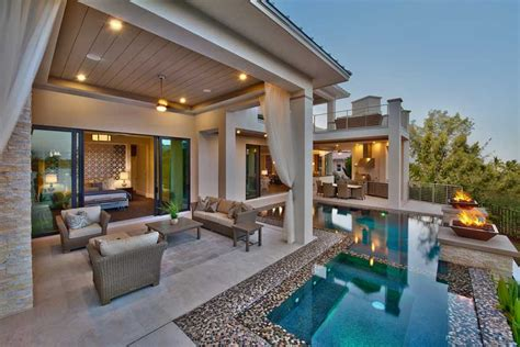 homes with outdoor living spaces how to create the perfect outdoor living space luxe