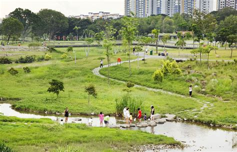 Plan Drawing Online bishan park by atelier dreiseitl australian design review