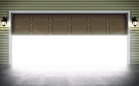 how to open a garage door what to do when your garage door opener opens by itself