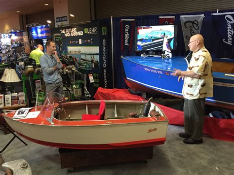 seattle show seattle winter boat show small display but