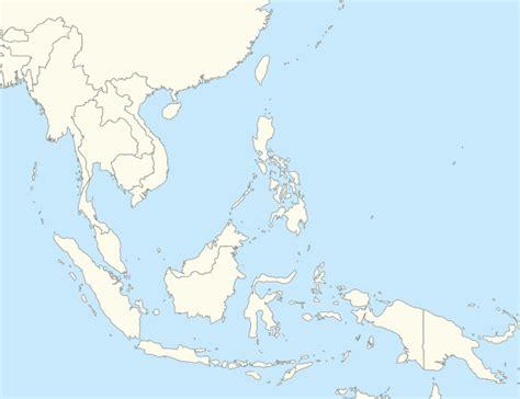 southeast asian map southeast asia