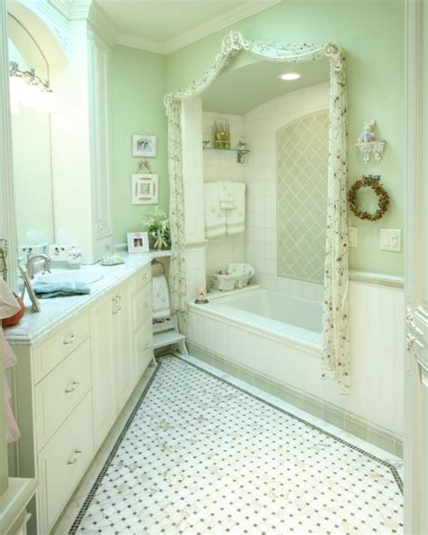 green and white bathroom ideas traditional green and white bathroom traditional