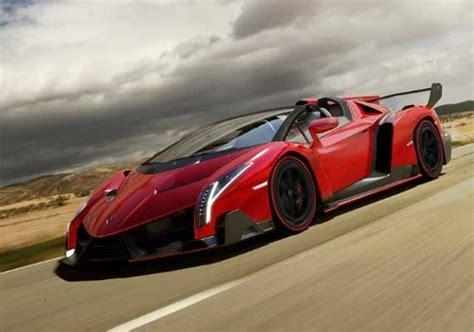 Lamborghini Only 4 Made 4 5 Million Lamborghini Veneno Roadster Makes Its
