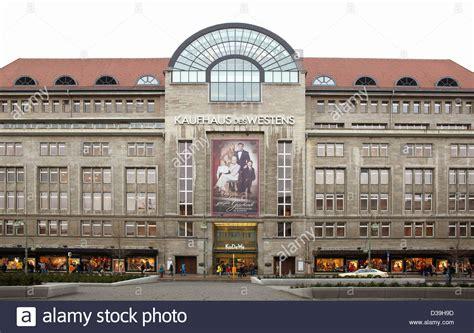 kadewe berlin shops kadewe department store in berlin stock photo royalty