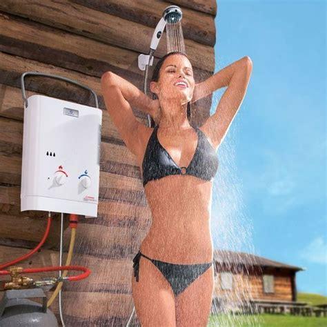 portable hot shower uk 1000 ideas about portable shower head on pinterest